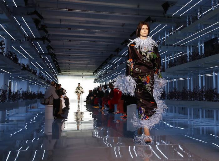 Daniel Del Core women's and men's Fall Winter 2021-22 collection, unveiled during the Fashion Week in Milan, Italy,