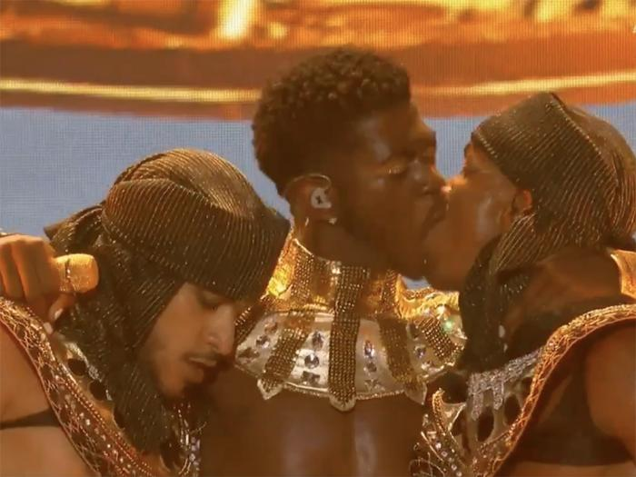Lil Nas X at the BET Awards, June 27, 2021.